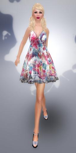 SHIKI designs summer dress BOUQUET