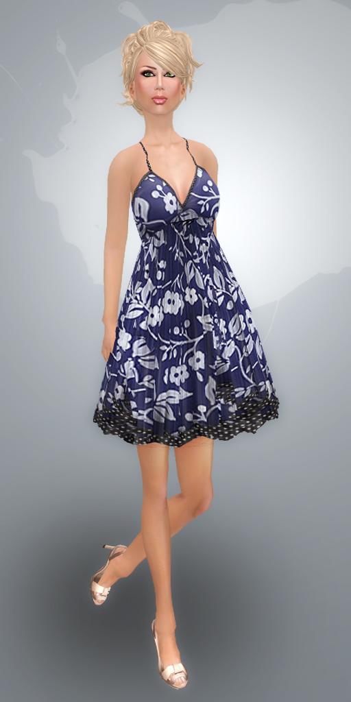 intutes: solar dress (free) pattern