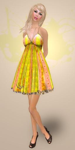 SHIKI designs summer dress SUNSHINE