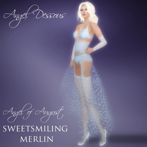 Angel of August Sweetsmiling Merlin