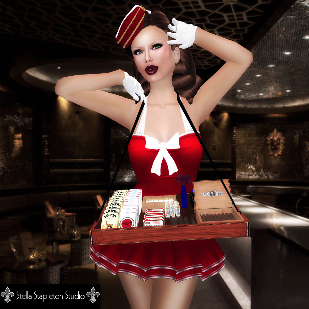 Sexy cigarette girl costume