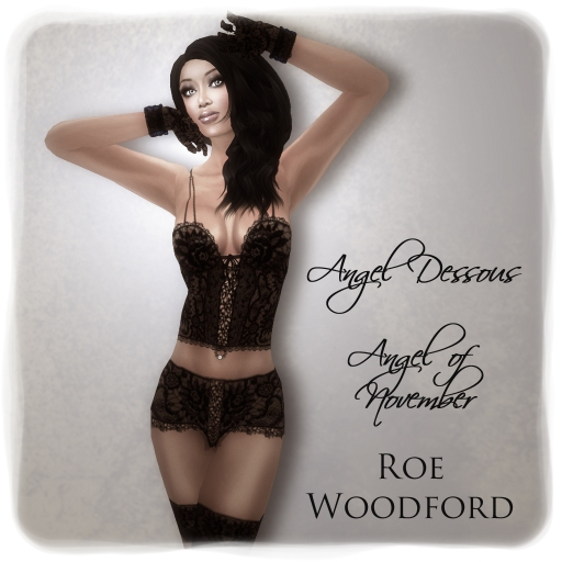 Roe Woodford in Eternity Angel of November 1
