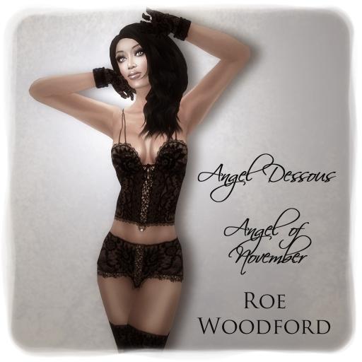 Roe Woodford in Eternity Angel of November 1