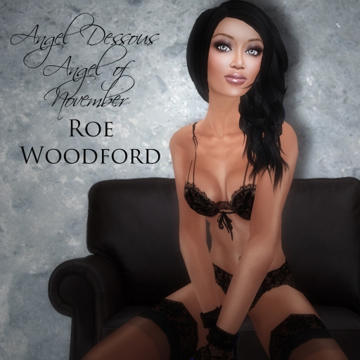 Roe Woodford in Eternity Angel of November 2