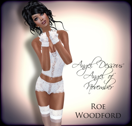 Roe Woodford in Eternity Angel of November 3