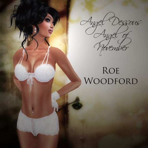 Roe Woodford in Eternity Angel of November 4