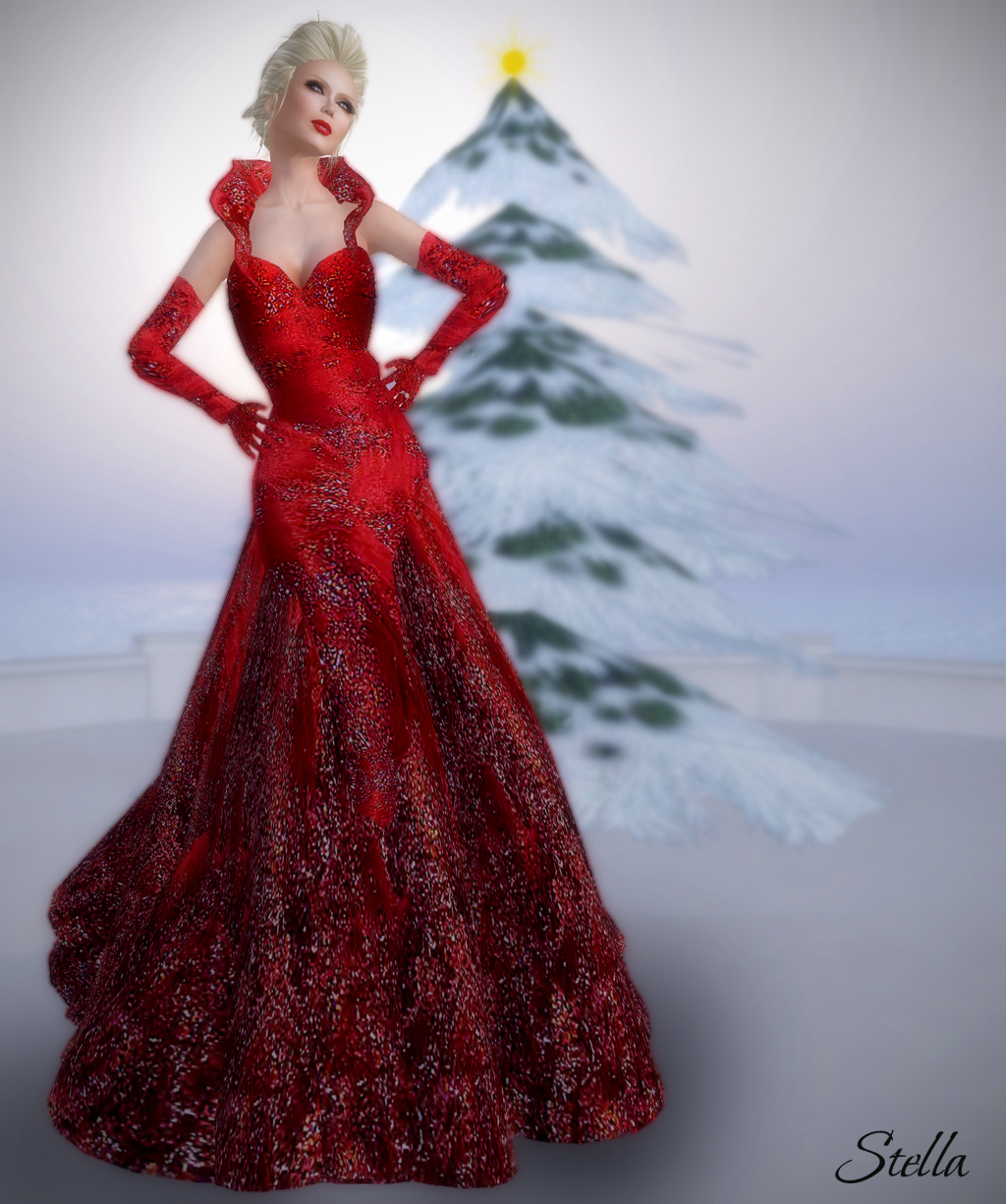 Sascha's Designs Novice Berry gown