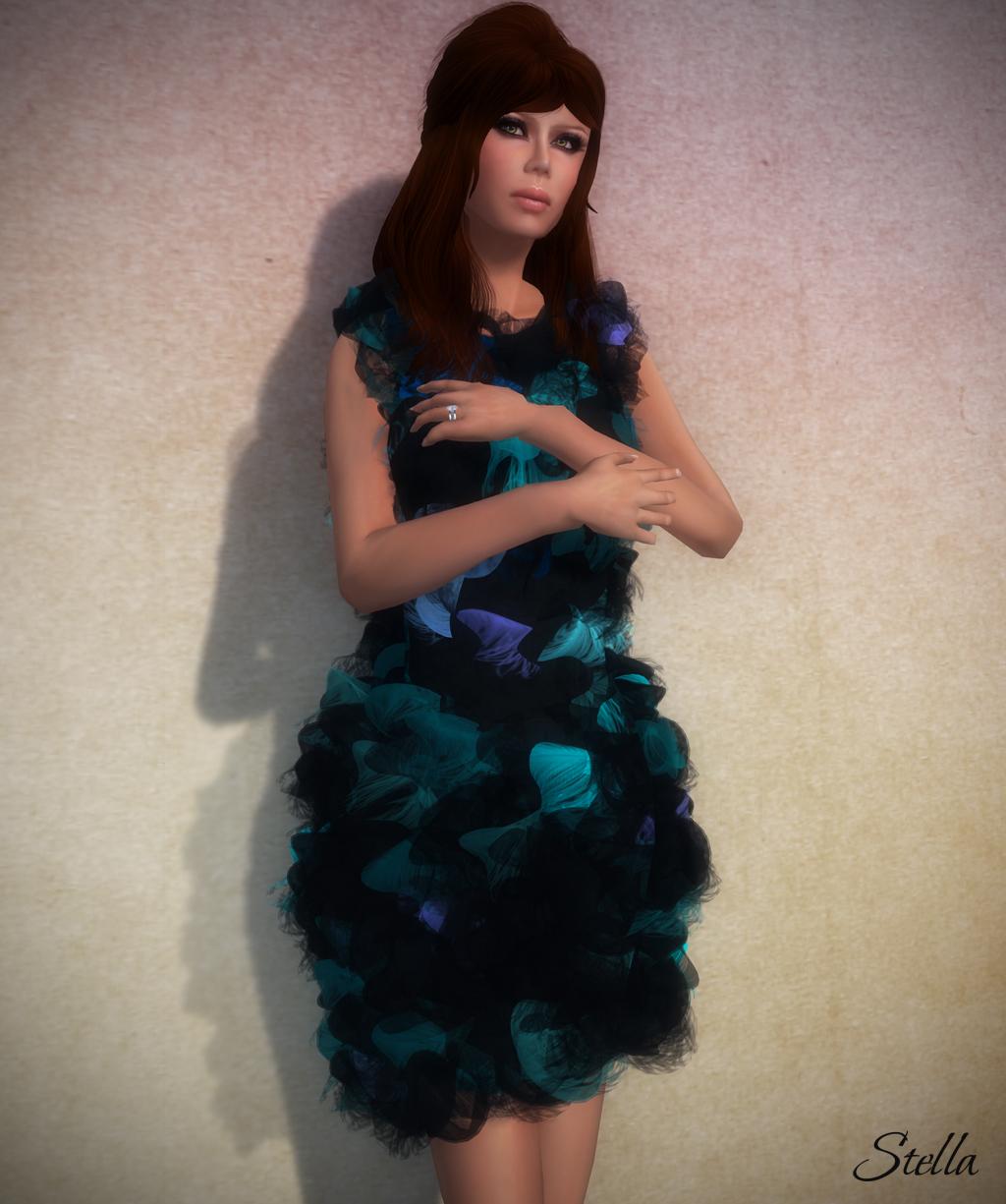 SHIKI Dreamscape dress (Euphoria)