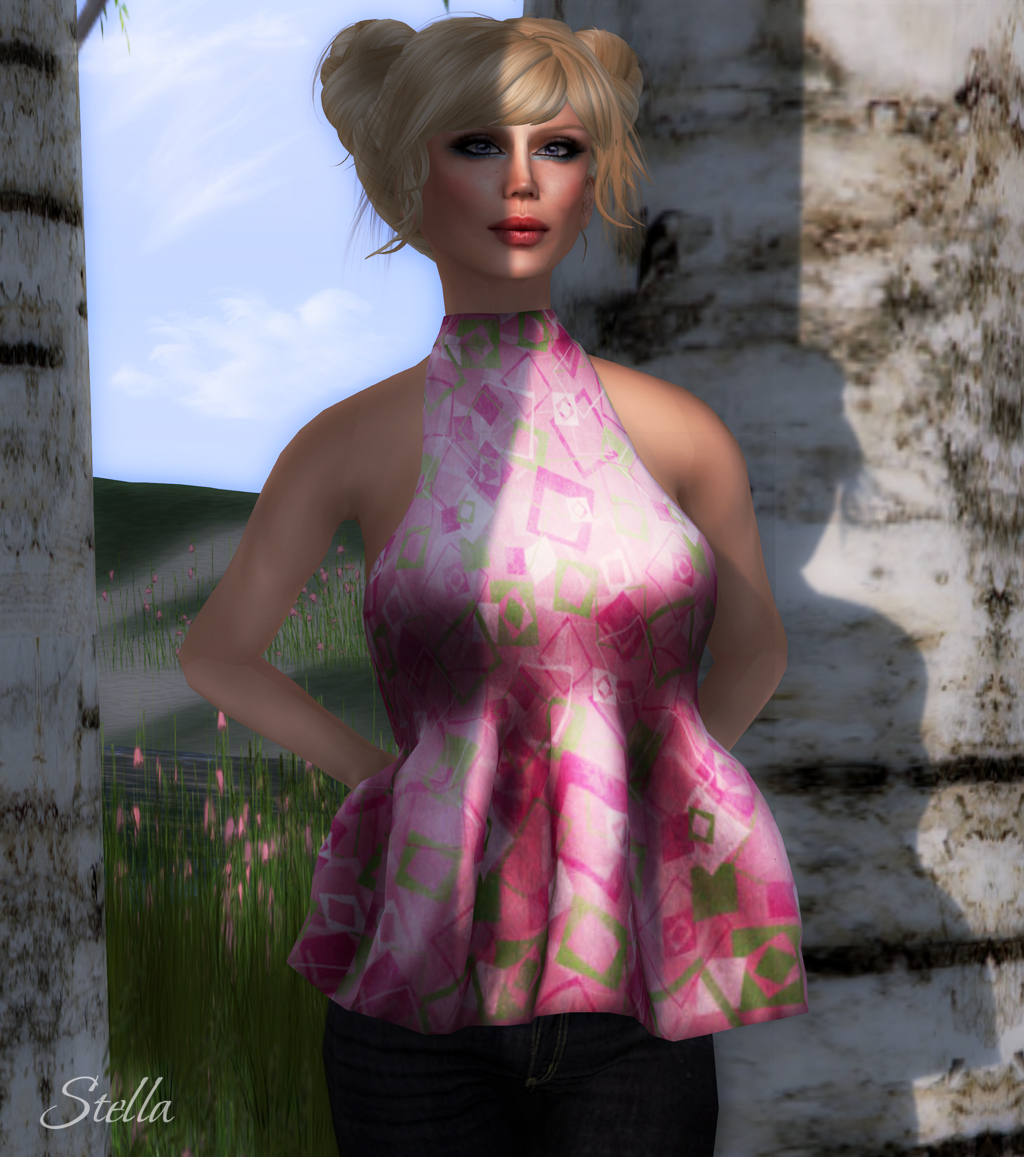 AMD Esme mesh top (Retro Pink)